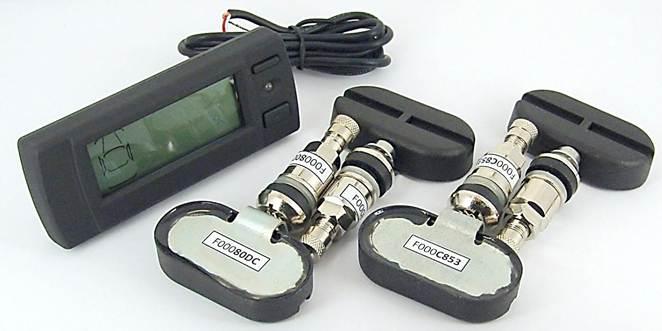 Система контроля давления и температуры в шинах Spider TPMS