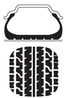 нормальное давление в шине , минимальный износ , наилучшая управляемость и тормозной путь